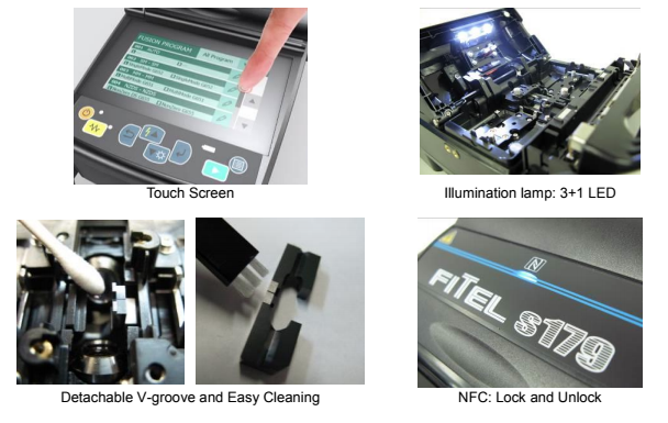 fusionadora-fibra-optica-fitel-s179-pantalla